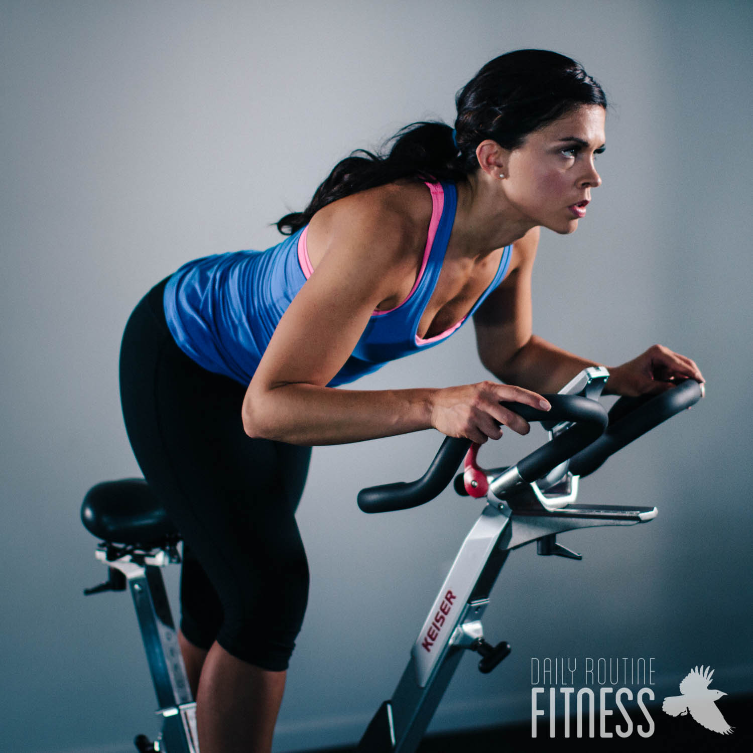 Spinning Bike Class / Sunken Gardens Theater