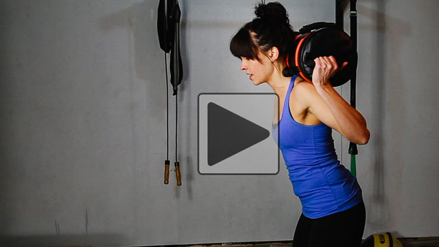 Free Video Blog - Sandbag Workout