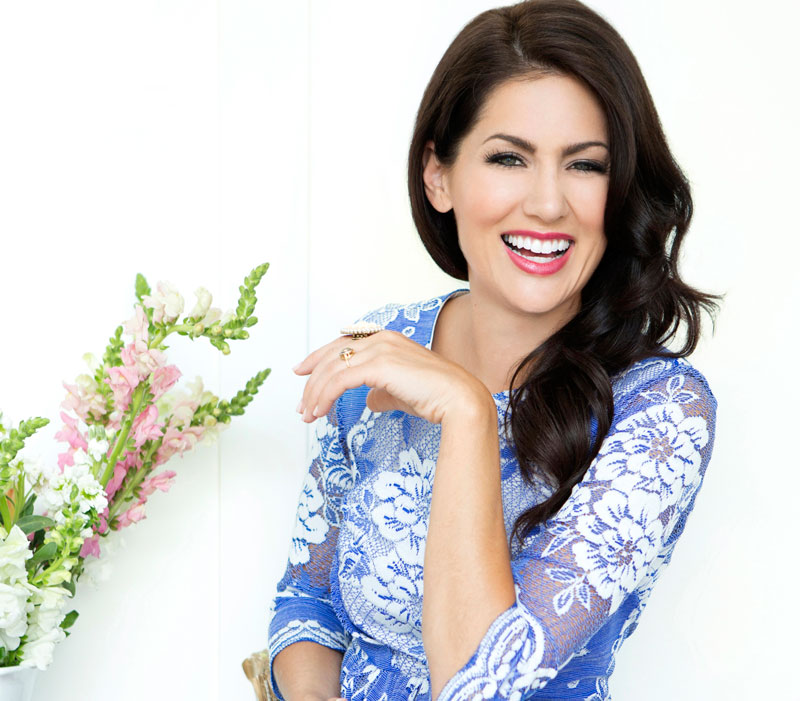 Jillian Harris trains with daily routine fitness