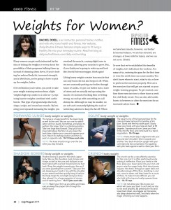 weights for woman