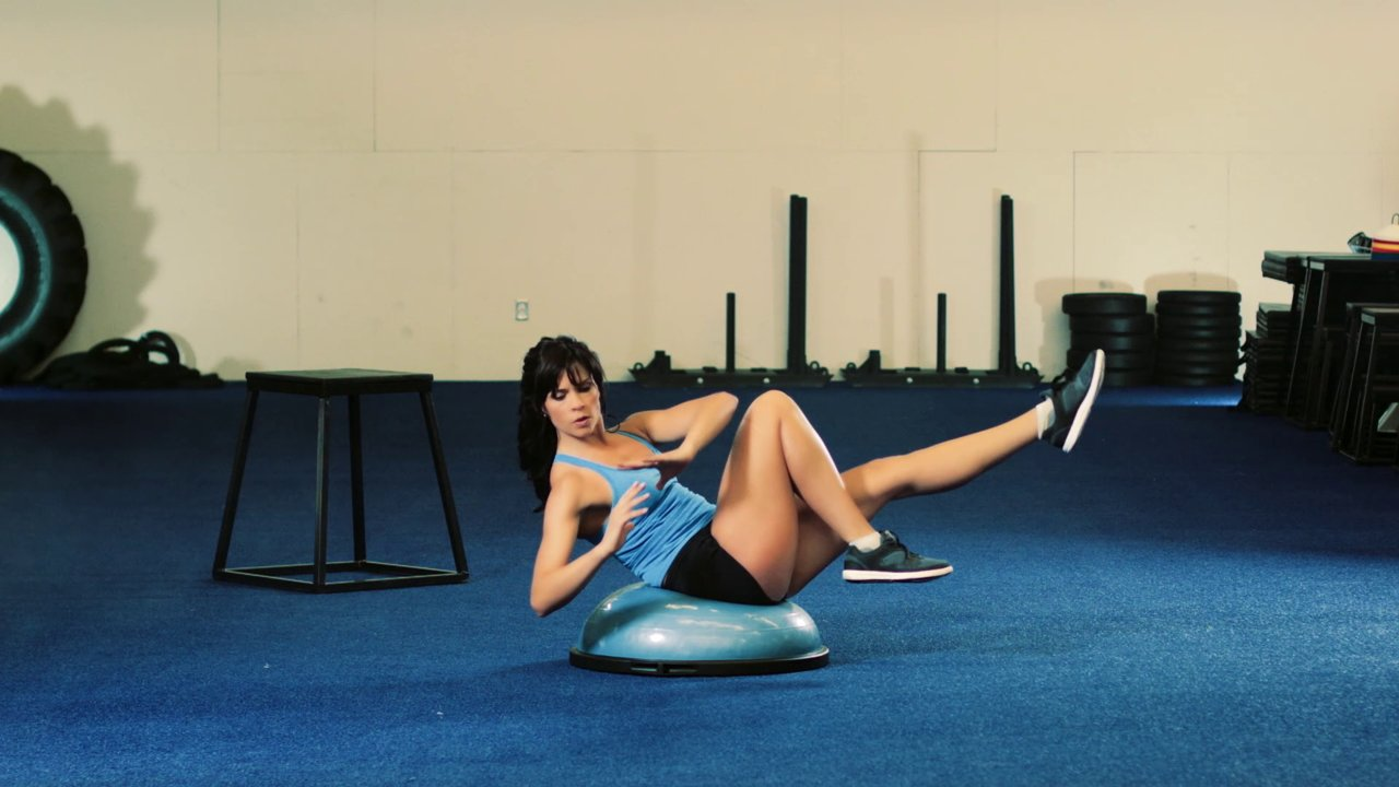 Workout Video: The Bosu Balance Challenge